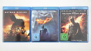 5 BLU-RAYs: Batman Begins + The Dark Knight (2-Disc) + The Dark Knight Rises (2…
