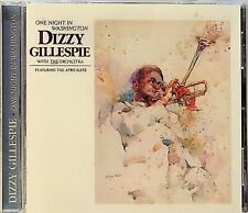 Dizzy Gillespie With The Orchestra -One Night in Washington CD (Afro Suite/Jazz)