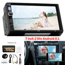 "2 Din Android 8.1 7"" Touch Screen Car Bluetooth Stereo Radio GPS Wifi MP5 Player"