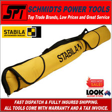 STABILA LCC-5-120 1.2 METRE 5 POCKET SPIRIT LEVEL CARRY BAG 1200mm LEVEL CASE
