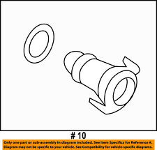 FORD OEM-Engine Oil Drain Plug FT4Z6730A