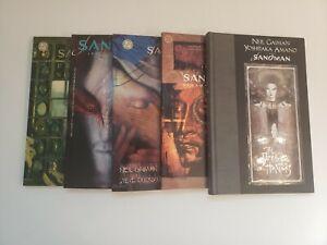 Sandman Neil Gaiman graphic novel TPB Hardcover lot of 5 Vertigo