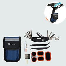 ROCKBROS Bike Tools Portable Tyre Repair Kit Tool Bag With Multi-function Tool