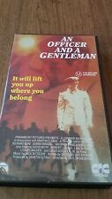 AN OFFICER AND A GENTLEMAN - RICHARD GERE & DEBRA WINGER - VHS VIDEO