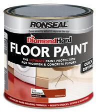 Ronseal Diamond Hard Floor Paint 750ml Terracotta Wood & Concrete Floors