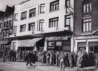 Original Press Photo WW2 BEF British troops queue for Maurice Chevalier 12.11.39