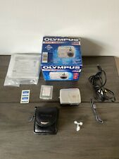 Olympus C-40 Zoom Vintage Digital Camera 2001 Camedia | Boxed With Manuals