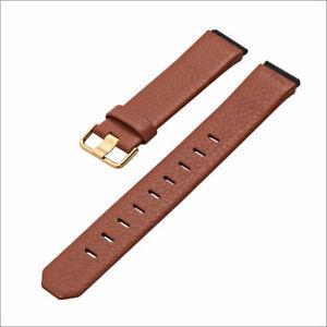 JACOB JENSEN Uhrband strap Uhrenarmband original Leder braun 17 mm Einschubband