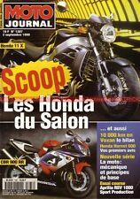 MOTO JOURNAL 1387 VOXAN 1000 RSV APRILIA HONDA X11 CBR 900 RR CB 600 Hornet X11