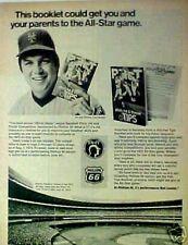 1972  Tom Seaver NY Mets Baseball Phillips 66 Gas Sports Memorabilia Booklet AD