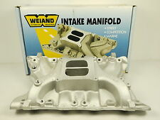 FORD 351M 400M INTAKE MANIFOLD 2V DUAL PLANE HIGH RISE ACTION PLUS WEIAND 8010