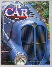 THE CAR magazine Issue 20 featuring Delahaye 135, Alfa Romeo Alfetta 158/159