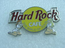 HRC,ON-LINE,Hard Rock Cafe Pin,White GirlS of Rock,Sexy,First Series