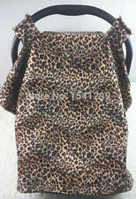 Luxe baby car seat capsule stroller pram cover  Leopard / Red Polka Dots