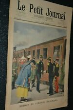Le petit journal Supplément illustré N°590 / 9-3-1902 / Colonel Marchand