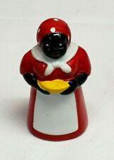 "Vintage AUNT JEMIMA Mammy BLACK AMERICANA Ceramic BELL 3"" Tall MINT"