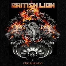 BRITISH LION (Steve Harris / Iron Maiden) 'THE BURNING' CD (2020)