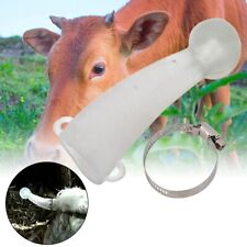 1Pair Round Cornered Silicone Safe Cow Calf Cattle Bull Horn Cover Protector