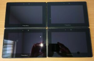 4 x BlackBerry PlayBook 64GB, Wi-Fi, 7in - Black Sapres and Repairs Only