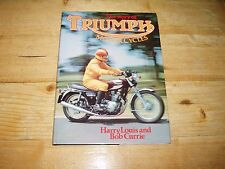 The Story of Triumph Motorcycles dated 1975.