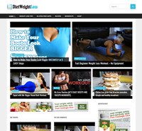 Fully Automated Weight Loss Tips Video Website