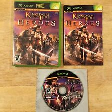 Kingdom Under Fire: Heroes Original Microsoft Xbox System Complete Game