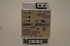 TDK-Lambda DLP120-24 - 1/E Power Supply  Input 100 - 230VAC to 24VDC
