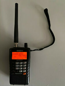 Uniden Bearcat UBC-125XLT 500 Channel Handheld Scanner Boxed Good Condition