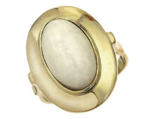 Ring Opal 585er Gelbgold Retro approx. 1950