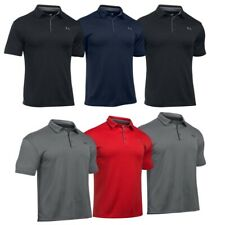 Under Armour Mens Polo Shirts Tech Top Short Sleeve UA Golf Casual T Shirt