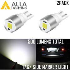 168 Licensetagside Marker Light Bulbdoor Mirror Illuminationglove Boxbeam Fits Rsx