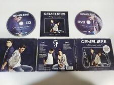 GEMELIERS MIL Y UNA NOCHES EDICION ESPECIAL DELUXE CD + DVD FIRMADO A MANO !!!