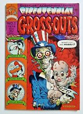 BICENTENNIAL GROSS-OUTS #1 Yentzer and Gonif 1976 ~ William Stout Disney Satire