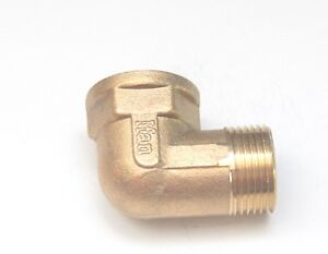 """3/4"""" BSP Male Female Elbow British Threaded Pipe Fitting Fuel, Air, Water, Oil"""