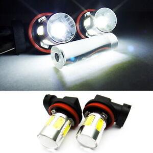2x Q5 XR-E LED H11 H8 For 05-11 SAAB Projector Fog Driving Light Xenon White 28W