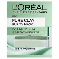 L'Oréal All Types Skin Clay Masks