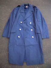 Vintage USAF US Air Force Vietnam Nam 1967 Overcoat Coat Wool Blue Men's 37 R