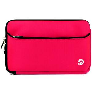 Pink VanGoddy Neoprene Protector Case Cover Sleeve For iPad 9.7 / iPad Pro 11
