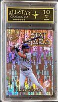 2000 Topps Own The Game Stat Stars OTG1 Derek Jeter ASG Graded 10 MLB HOF