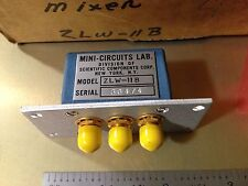 NEW! Mini-Circuits ZLW-11B Frequency Mixer 5 to 2000MHz SMA(F) Factory Sealed!