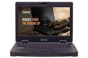 "Robustes Militär Notebook Getac S410 13,3"" FHD i5-6300U 8GB 500GB SSD, 4G LTE"