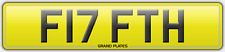 F17 FTH FIFTH GEAR NUMBER PLATE REGISTRATION TOP SPEED RACER RACING CAR NO FEES