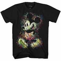 Disney World Mickey Mouse Disneyland Tee Graphic T-Shirt Funny Adult Mens Retro