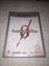 RESIDENT EVIL 0 ZERO -  Nintendo GAMECUBE - PAL - COMPLETO - CAPCOM