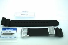 SEIKO GENUINE  22MM DIVER PREMIUM STRAP / STAINLESS KEEPER - ORIGINAL TO SRP777