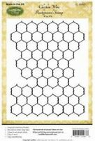 JUSTRITE CLING Rubber Stamps CHICKEN WIRE BACKGROUND CL-05087