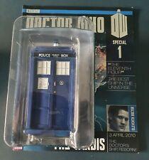 Eaglemoss Doctor Who TARDIS And Magazine