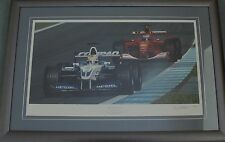"RAY GOLDSBROUGH. ""3 TIMES A WINNER"". LIMITED EDITION PRINT"