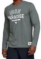 Under Armour UA Project Rock IRON PARADISE Long Sleeve Shirt XXL