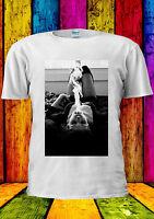 Smoking Girl Cigarette Weed Sexy T-shirt Vest Tank Top Men Women Unisex 2200